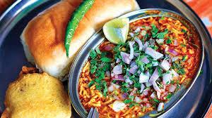 Misal Pav - Maharashtrian Dishes