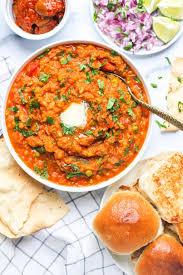 Pav Bhaji - Maharashtrian Dishes